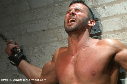 Photo number 6 from Latin hunk Diego Vena brand new to BDSM shot for 30 Minutes of Torment on Kink.com. Featuring Diego Vena in hardcore BDSM & Fetish porn.