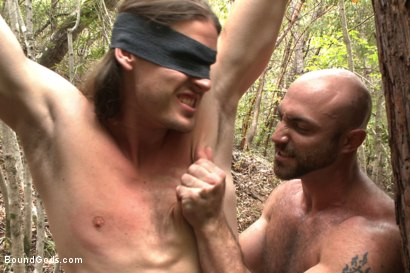 Photo number 7 from The Cabin Series #1 - The Best Friend's Son shot for Bound Gods on Kink.com. Featuring Brock Avery, Kip Johnson and Tatum in hardcore BDSM & Fetish porn.