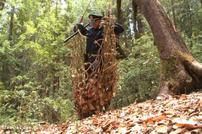 Photo number 3 from Officer Bullet - Ass fucked and edged in the middle of the woods shot for Men On Edge on Kink.com. Featuring Jimmy Bullet in hardcore BDSM & Fetish porn.