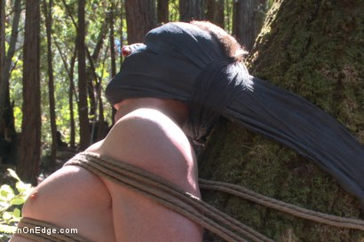 Photo number 9 from Officer Bullet - Ass fucked and edged in the middle of the woods shot for Men On Edge on Kink.com. Featuring Jimmy Bullet in hardcore BDSM & Fetish porn.