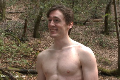 Photo number 15 from Bi stud bound and edged in the forrest shot for Men On Edge on Kink.com. Featuring Dirk Wakefield in hardcore BDSM & Fetish porn.