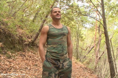 Photo number 1 from Russian soldier captured and edged deep in the woods shot for Men On Edge on Kink.com. Featuring Valentin Petrov in hardcore BDSM & Fetish porn.