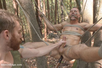 Photo number 11 from Russian soldier captured and edged deep in the woods shot for Men On Edge on Kink.com. Featuring Valentin Petrov in hardcore BDSM & Fetish porn.