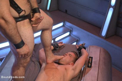 Photo number 12 from The Onyx Converter - The Onyx vs The Redz Series shot for Bound Gods on Kink.com. Featuring Jaxton Wheeler and Lucas Knight in hardcore BDSM & Fetish porn.