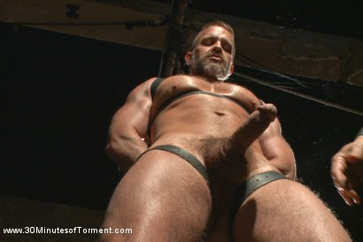Photo number 1 from Muscled hunk Dirk Caber relentlessly tormented and his ass violated  shot for 30 Minutes of Torment on Kink.com. Featuring Dirk Caber in hardcore BDSM & Fetish porn.