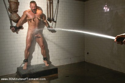 Photo number 10 from Muscled hunk Dirk Caber relentlessly tormented and his ass violated  shot for 30 Minutes of Torment on Kink.com. Featuring Dirk Caber in hardcore BDSM & Fetish porn.