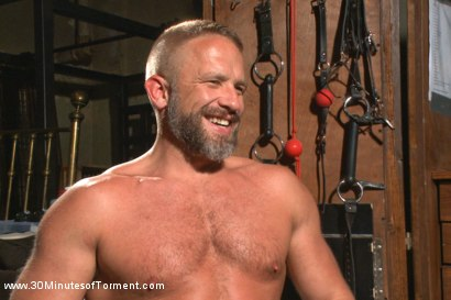 Photo number 15 from Muscled hunk Dirk Caber relentlessly tormented and his ass violated  shot for 30 Minutes of Torment on Kink.com. Featuring Dirk Caber in hardcore BDSM & Fetish porn.