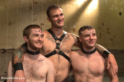 Photo number 15 from Big Cock Galore - Live Show shot for Bound Gods on Kink.com. Featuring Van Darkholme, Christian Wilde, Seamus O'Reilly and Doug Acre in hardcore BDSM & Fetish porn.