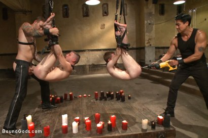 Photo number 7 from Big Cock Galore - Live Show shot for Bound Gods on Kink.com. Featuring Van Darkholme, Christian Wilde, Seamus O'Reilly and Doug Acre in hardcore BDSM & Fetish porn.
