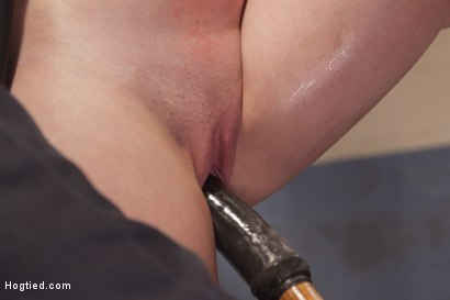 Photo number 6 from Dirty Redhead Slut Scrubbed Clean shot for Hogtied on Kink.com. Featuring Sgt. Major and Marie McCray in hardcore BDSM & Fetish porn.