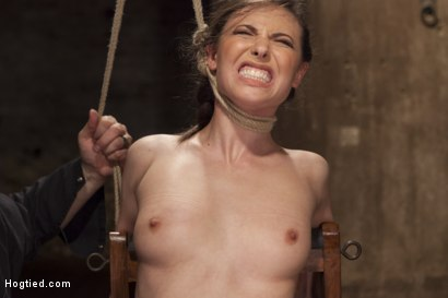 Photo number 10 from Casey Calvert Anal Hooked and Gagged shot for Hogtied on Kink.com. Featuring Sgt. Major and Casey Calvert in hardcore BDSM & Fetish porn.