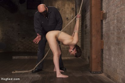 Photo number 11 from Casey Calvert Anal Hooked and Gagged shot for Hogtied on Kink.com. Featuring Sgt. Major and Casey Calvert in hardcore BDSM & Fetish porn.