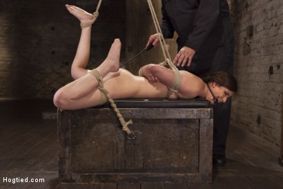 Photo number 4 from Casey Calvert Anal Hooked and Gagged shot for Hogtied on Kink.com. Featuring Sgt. Major and Casey Calvert in hardcore BDSM & Fetish porn.