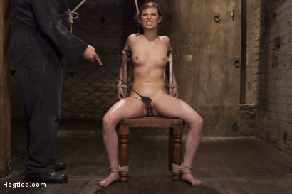 Photo number 7 from Casey Calvert Anal Hooked and Gagged shot for Hogtied on Kink.com. Featuring Sgt. Major and Casey Calvert in hardcore BDSM & Fetish porn.