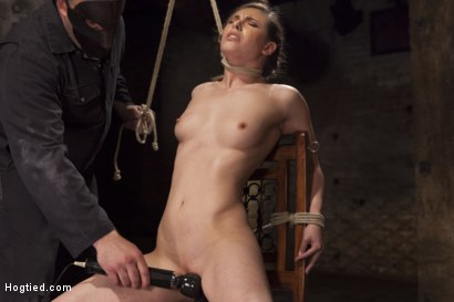 Photo number 8 from Casey Calvert Anal Hooked and Gagged shot for Hogtied on Kink.com. Featuring Sgt. Major and Casey Calvert in hardcore BDSM & Fetish porn.