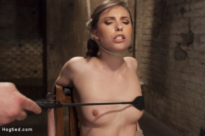 Photo number 9 from Casey Calvert Anal Hooked and Gagged shot for Hogtied on Kink.com. Featuring Sgt. Major and Casey Calvert in hardcore BDSM & Fetish porn.