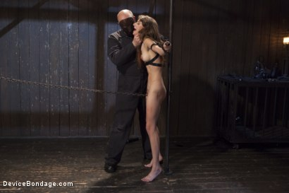 Photo number 8 from Newcomer Loses Her Innocence shot for Device Bondage on Kink.com. Featuring Sgt. Major and Willow Hayes in hardcore BDSM & Fetish porn.
