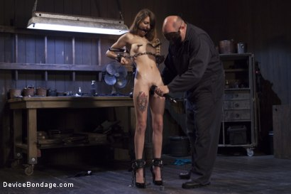 Photo number 11 from Newcomer Loses Her Innocence shot for Device Bondage on Kink.com. Featuring Sgt. Major and Willow Hayes in hardcore BDSM & Fetish porn.