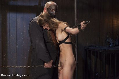 Photo number 12 from Newcomer Loses Her Innocence shot for Device Bondage on Kink.com. Featuring Sgt. Major and Willow Hayes in hardcore BDSM & Fetish porn.