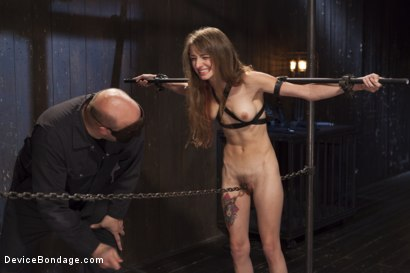 Photo number 7 from Newcomer Loses Her Innocence shot for Device Bondage on Kink.com. Featuring Sgt. Major and Willow Hayes in hardcore BDSM & Fetish porn.