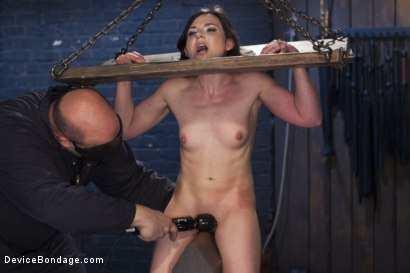 Photo number 14 from Girl Next Door is Bound and Tormented Like a Whore! shot for Device Bondage on Kink.com. Featuring Sgt. Major and Amy Faye in hardcore BDSM & Fetish porn.