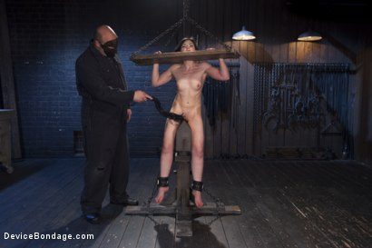 Photo number 6 from Girl Next Door is Bound and Tormented Like a Whore! shot for Device Bondage on Kink.com. Featuring Sgt. Major and Amy Faye in hardcore BDSM & Fetish porn.