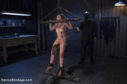 Photo number 7 from Girl Next Door is Bound and Tormented Like a Whore! shot for Device Bondage on Kink.com. Featuring Sgt. Major and Amy Faye in hardcore BDSM & Fetish porn.