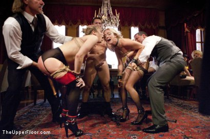 Photo number 1 from Dahlia Sky Breaks in Newcomer Karla Kush shot for The Upper Floor on Kink.com. Featuring Dahlia Sky, John Strong and Karla Kush in hardcore BDSM & Fetish porn.