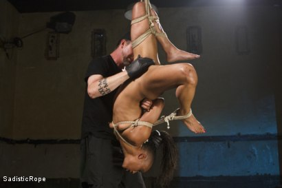 Photo number 7 from Wreaking Havoc on Nikki Darling shot for Sadistic Rope on Kink.com. Featuring Nikki Darling in hardcore BDSM & Fetish porn.