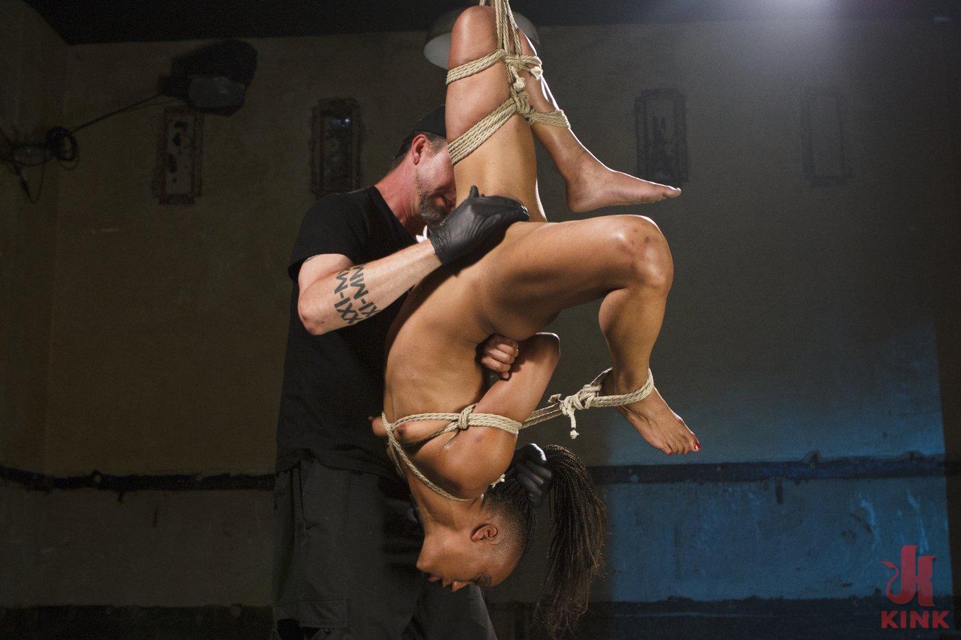Photo number 7 from Wreaking Havoc on Nikki Darling shot for Sadistic Rope on Kink.com. Featuring Nikki Darling in hardcore BDSM & Fetish porn.