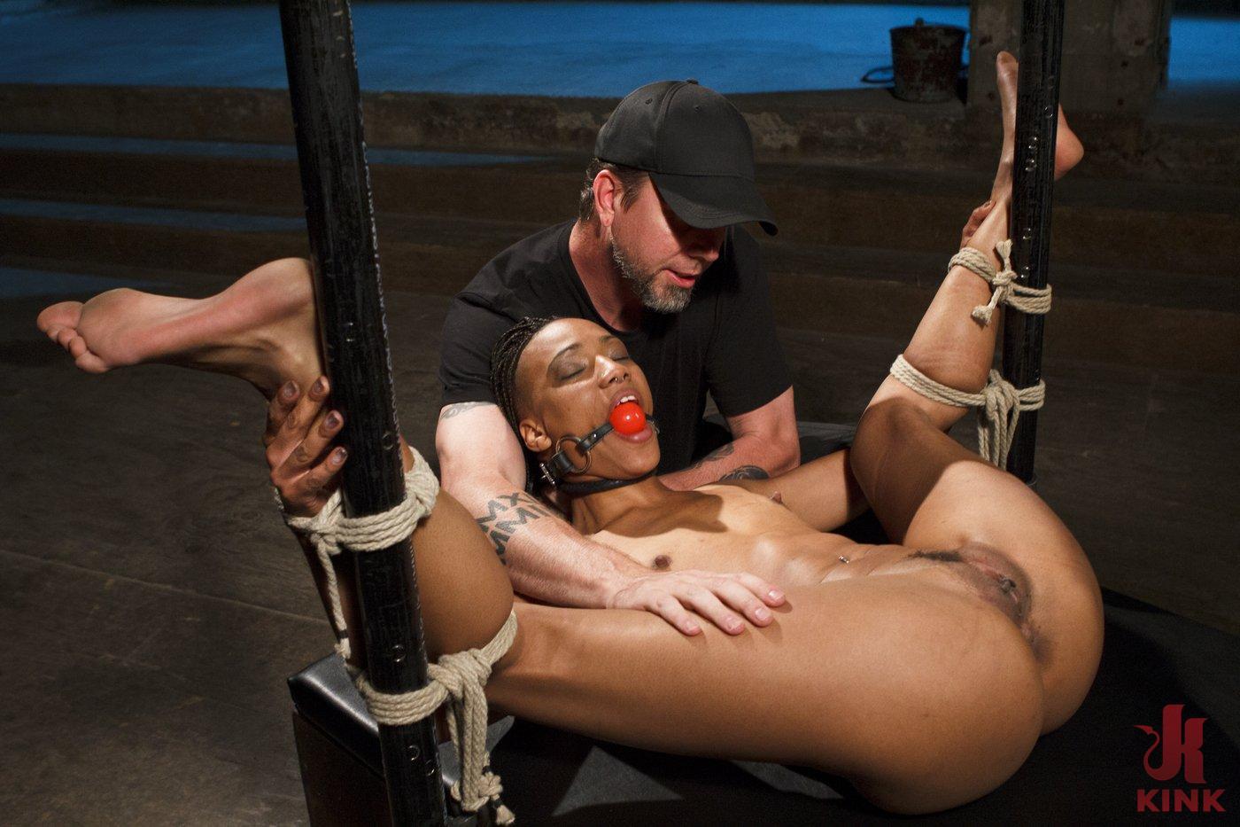 Photo number 8 from Wreaking Havoc on Nikki Darling shot for Sadistic Rope on Kink.com. Featuring Nikki Darling in hardcore BDSM & Fetish porn.