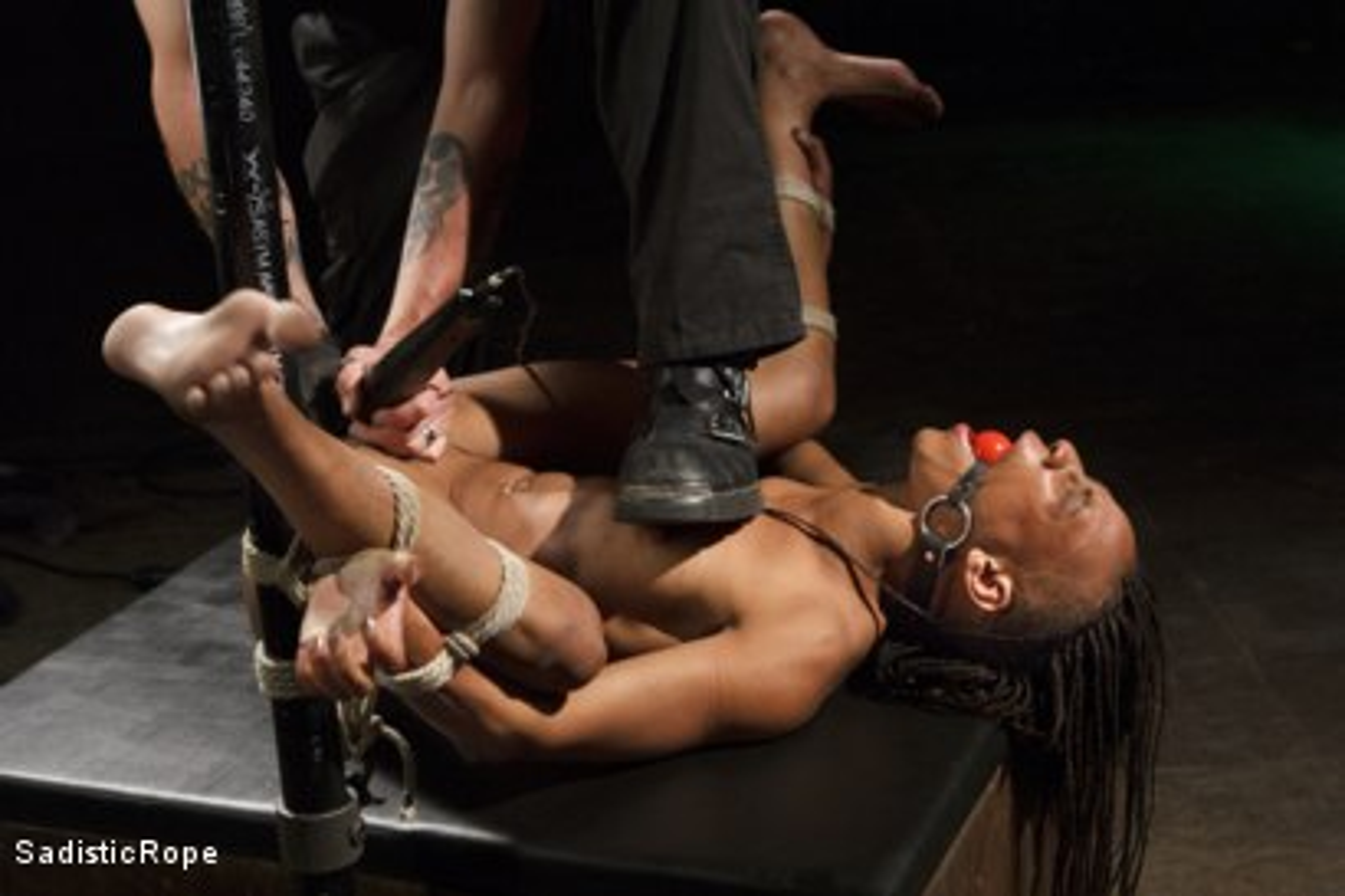 Photo number 9 from Wreaking Havoc on Nikki Darling shot for Sadistic Rope on Kink.com. Featuring Nikki Darling in hardcore BDSM & Fetish porn.