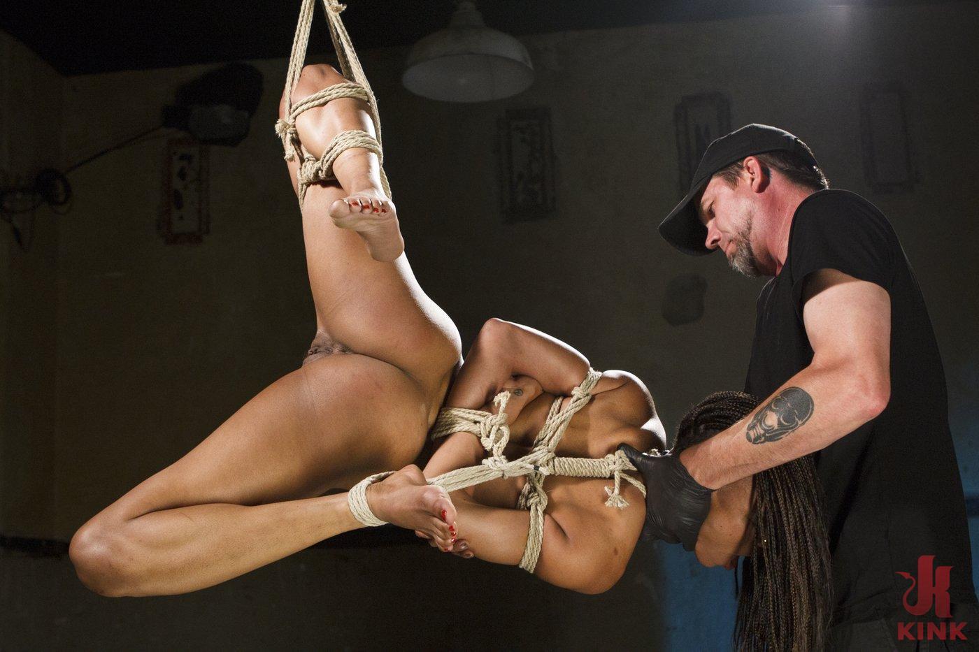 Photo number 13 from Wreaking Havoc on Nikki Darling shot for Sadistic Rope on Kink.com. Featuring Nikki Darling in hardcore BDSM & Fetish porn.
