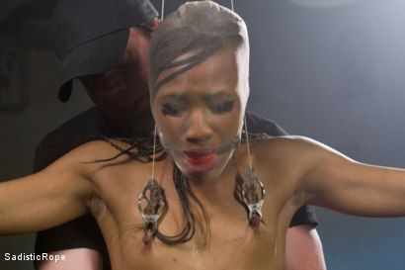 Photo number 3 from Wreaking Havoc on Nikki Darling shot for Sadistic Rope on Kink.com. Featuring Nikki Darling in hardcore BDSM & Fetish porn.