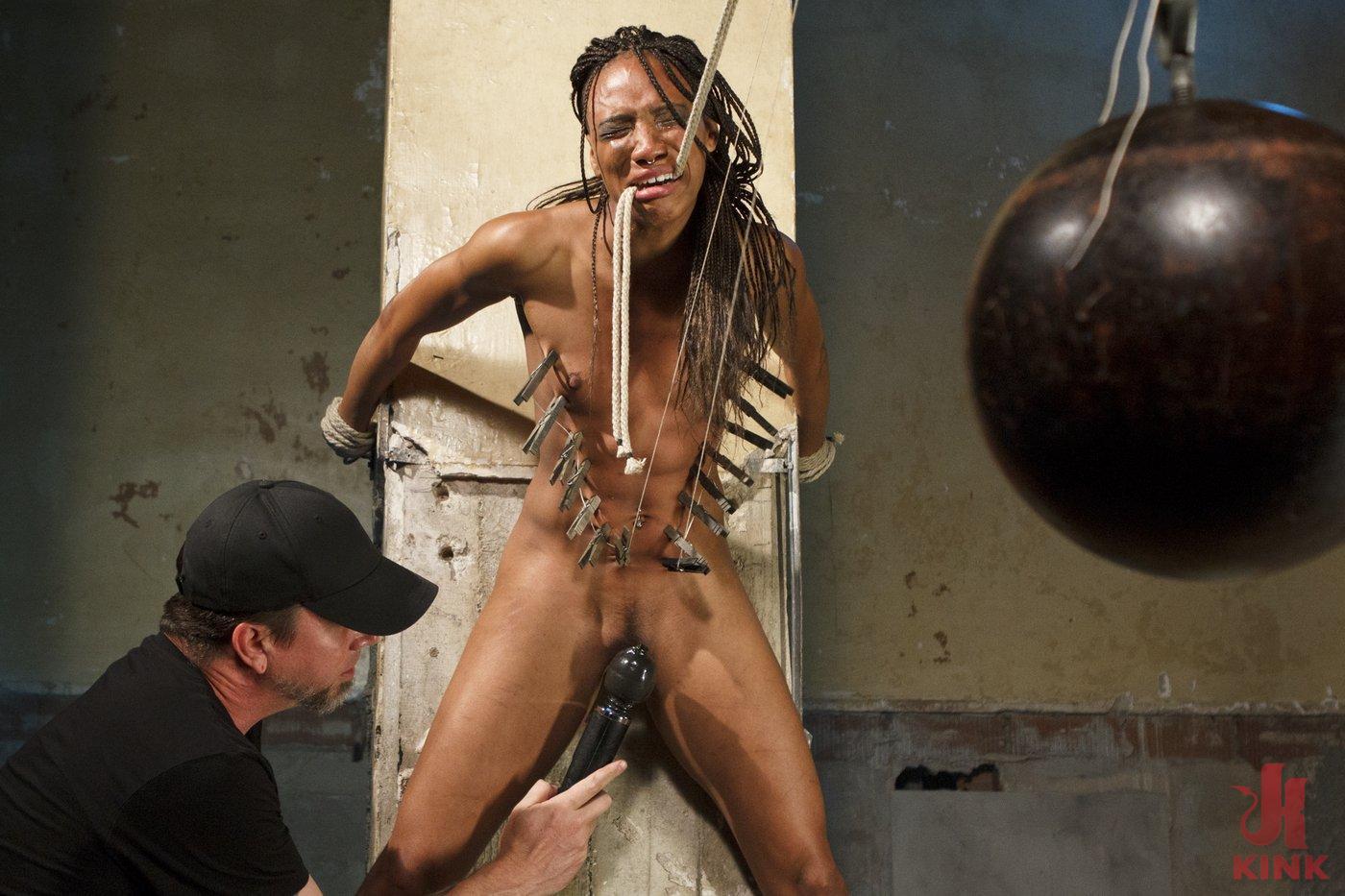 Photo number 4 from Wreaking Havoc on Nikki Darling shot for Sadistic Rope on Kink.com. Featuring Nikki Darling in hardcore BDSM & Fetish porn.