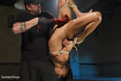 Photo number 6 from Wreaking Havoc on Nikki Darling shot for Sadistic Rope on Kink.com. Featuring Nikki Darling in hardcore BDSM & Fetish porn.