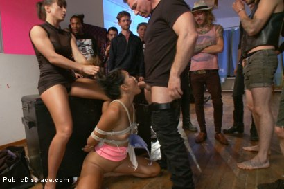 Photo number 4 from like a virgin- disgraced for the very first time! shot for Public Disgrace on Kink.com. Featuring Angelina Chung, John Strong and Ariel X in hardcore BDSM & Fetish porn.