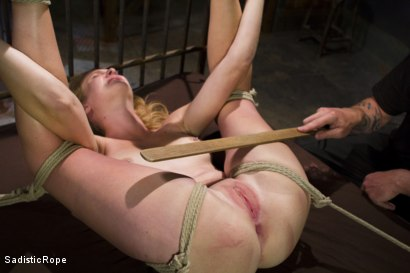 Photo number 11 from Screaming Through the Pain shot for Sadistic Rope on Kink.com. Featuring Ashley Lane in hardcore BDSM & Fetish porn.