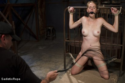 Photo number 2 from Screaming Through the Pain shot for Sadistic Rope on Kink.com. Featuring Ashley Lane in hardcore BDSM & Fetish porn.