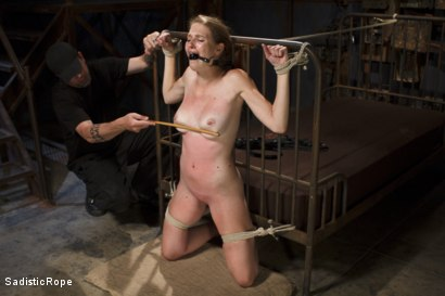 Photo number 4 from Screaming Through the Pain shot for Sadistic Rope on Kink.com. Featuring Ashley Lane in hardcore BDSM & Fetish porn.