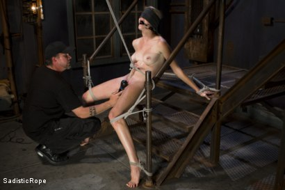 Photo number 5 from Screaming Through the Pain shot for Sadistic Rope on Kink.com. Featuring Ashley Lane in hardcore BDSM & Fetish porn.