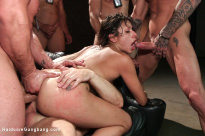 Photo number 6 from Movie Star re-writes the script: No vanilla sex for this horny Diva! shot for Hardcore Gangbang on Kink.com. Featuring Katrina Zova, Toni Ribas, Bill Bailey, Ramon Nomar, John Strong and Astral Dust in hardcore BDSM & Fetish porn.