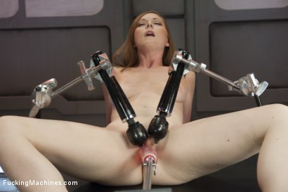 Photo number 7 from Scarlett Fay In the Armory and Fucking the Machines shot for Fucking Machines on Kink.com. Featuring Scarlett Fay in hardcore BDSM & Fetish porn.