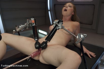 Photo number 5 from Scarlett Fay In the Armory and Fucking the Machines shot for Fucking Machines on Kink.com. Featuring Scarlett Fay in hardcore BDSM & Fetish porn.