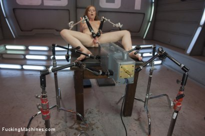 Photo number 2 from Scarlett Fay In the Armory and Fucking the Machines shot for Fucking Machines on Kink.com. Featuring Scarlett Fay in hardcore BDSM & Fetish porn.