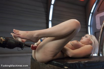 Photo number 9 from Blond newcomer anti's up with her Pussy vs. The Machines shot for Fucking Machines on Kink.com. Featuring Jenna Ivory in hardcore BDSM & Fetish porn.