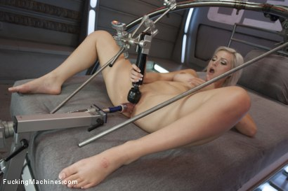 Photo number 7 from Blond newcomer anti's up with her Pussy vs. The Machines shot for Fucking Machines on Kink.com. Featuring Jenna Ivory in hardcore BDSM & Fetish porn.