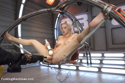 Photo number 13 from Blond newcomer anti's up with her Pussy vs. The Machines shot for Fucking Machines on Kink.com. Featuring Jenna Ivory in hardcore BDSM & Fetish porn.