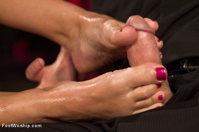 Photo number 11 from Luscious Fertility Goddess Foot Worship shot for Foot Worship on Kink.com. Featuring Christian Wilde and Bella Wilde in hardcore BDSM & Fetish porn.