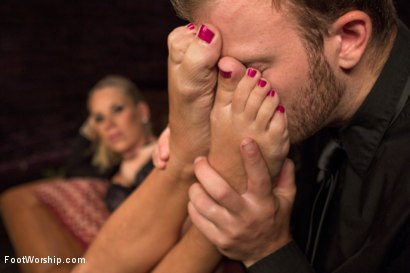 Photo number 8 from Luscious Fertility Goddess Foot Worship shot for Foot Worship on Kink.com. Featuring Christian Wilde and Bella Wilde in hardcore BDSM & Fetish porn.